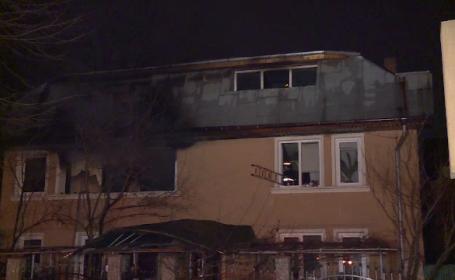 Bărbat din Capitală mort în incendiul provocat chiar de el. Rudele au sărit de la etaj ca să se salveze
