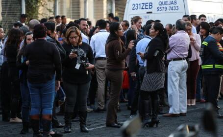 Nou cutremur cu magnitudinea de 6,1 produs în Mexic. Oamenii au ieșit panicați pe străzi