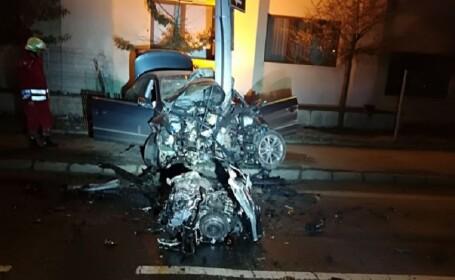 Accident rutier grav în Sibiu. Un celebru medic a murit în maşină