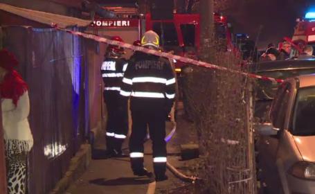 Două incendii soldate cu două decese, vineri noaptea, în Capitală