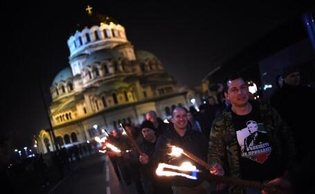 Marş al neo-naziştilor pe străzile din Sofia, în memoria unui general antisemit