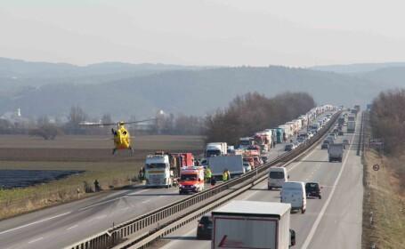 accident român
