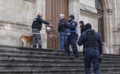 Alertă falsă cu bombă la Curtea de Apel București