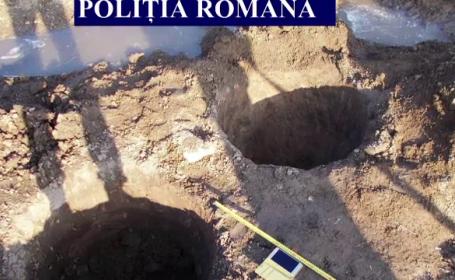 Dosar penal pentru doi bărbați care au găsit vase de lut din secolul al III-lea, într-o zonă arheologică
