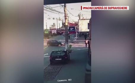 Bărbat din Oradea care traversa regulamentar, izbit în plin de o mașină