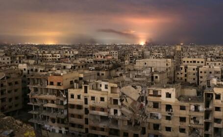 Bombardamentele continuă în Ghouta în ciuda rezoluției ONU. Peste 519 morți