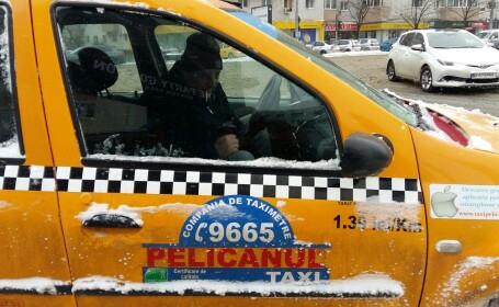 taximetrist acuzat de agresiune