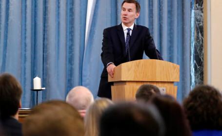 Șeful diplomației britanice s-a întâlnit cu Dăncilă. Ce a spus Jeremy Hunt despre Brexit