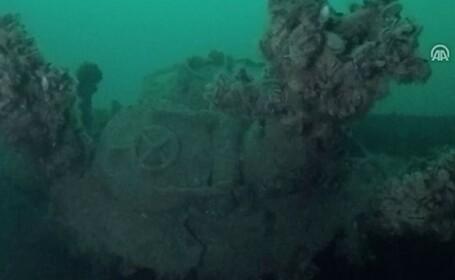 """Descoperire istorică în Marea Neagră. """"Flota pierdută a lui Hitler"""". VIDEO"""