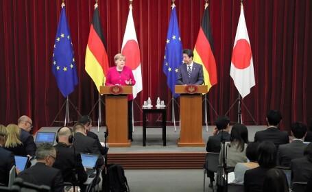 """Angela Merkel: """"Trebuie să dăm dovadă de creativitate în privinţa Brexitului\"""
