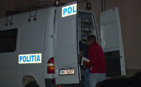 masina politie, criminalisti