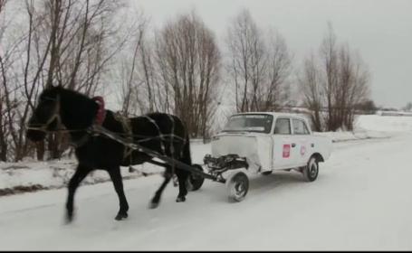 Un rus a inventat maşina cu un cal putere: E singura din lume