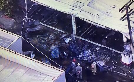 Zece persoane au murit într-un incendiu produs la clubul sportiv Flamengo