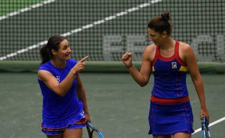 Irina-Camelia Begu si Monica Niculescu