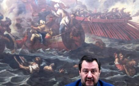 vicepremierul italian Matteo Salvini