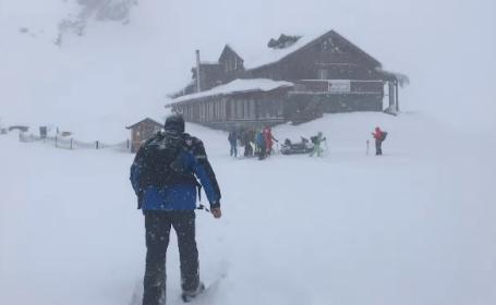 Risc de avalanșă de gradul 5, în Munții Făgăraş. Avertismentul salvamontiștilor