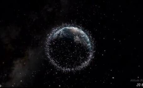 """Harponul pentru strângerea """"gunoiului spațial"""" a fost testat cu succes. Cum funcționează"""