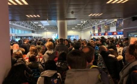 Incendiu pe aeroportul Ciampino din Roma. Pasagerii au fost evacuați