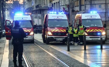 Atac cu cuţitul în centrul unui oraş din Franţa. Poliţia l-a ucis pe agresor. VIDEO
