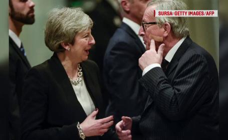 May și Juncker, progrese în discuțiile despre Brexit. Gluma făcută de șeful CE