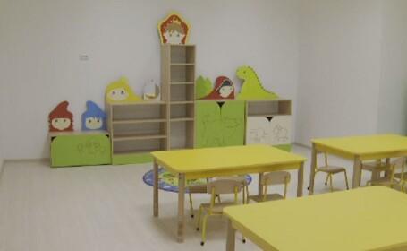 Cum arată grădinița de la mall. 500 de copii din București vor fi primiți în 21 clase