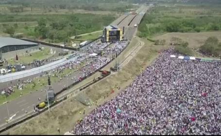 Război al concertelor, în Venezuela. Guaido a apelat la ajutorul unui miliardar britanic