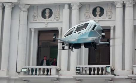 drone de transport pasageri