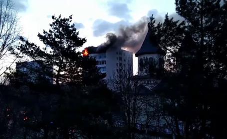 incendiu buzau carbonizata