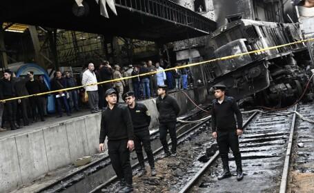 Grav accident feroviar, cu 10 morți și 20 de răniți. Momentul în care e cuprins de flăcări