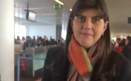 Prima reacție a Laurei Codruţa Kovesi după câștigarea votului din Comisia LIBE