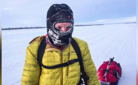 Planul lui Tiberiu Ușeriu pentru a câștiga ''Yukon Artic Ultra'', cea mai dură cursă din lume