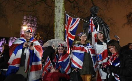 Cum au sărbătorit britanicii Brexitul - 9