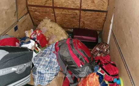 Descoperire uluitoare la frontiera României. Cine se ascundea sub un sac cu pufuleţi