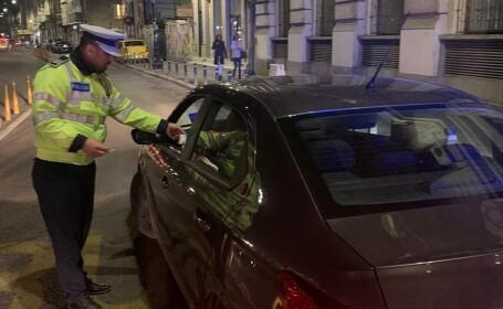 Șofer depistat drogat la volan