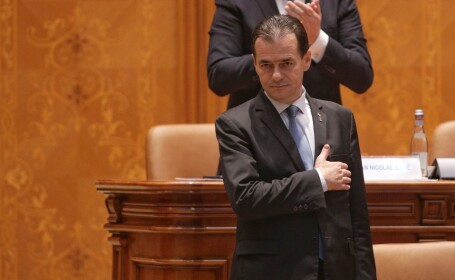 Ludovic Orban in Parlament