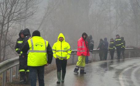 Pericol de inundații în mai multe județe din Transilvania, dar și în vestul țării