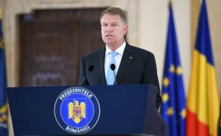 Klaus Iohannis va susţine o declaraţie de presă, la Palatul Cotroceni