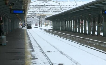 Un tren care circula pe ruta Brașov - Budapesta a deraiat în județul Sibiu