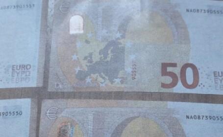 2 bărbaţi, reţinuţi după ce au cheltuit 10.000 de euro. Ce era în neregulă cu banii