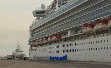 17 români se află pe o navă de croazieră de lux cu zeci de cazuri de coronavirus