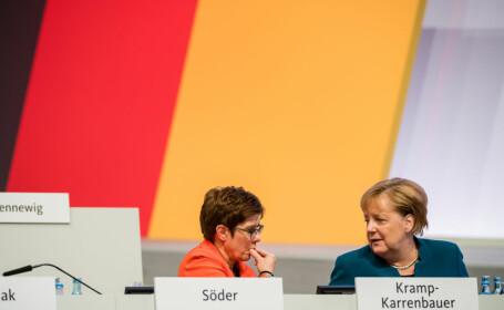 Surse: Protejata Angelei Merkel nu va candida la postul de cancelar și renunță la conducerea CDU