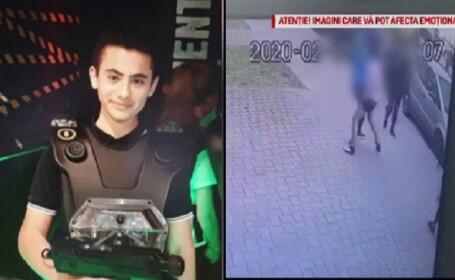 Băiat de 13 ani, în moarte cerebrală după ce a fost bătut pe stradă