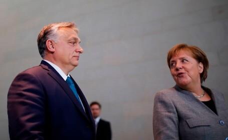 """Angela Merkel, despre dezvoltarea economică a Ungariei. """"Foarte pozitivă"""""""