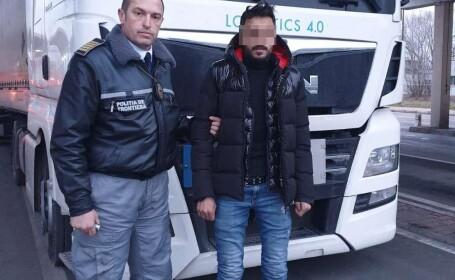 Metoda prin care un tânăr sirian a urcat neobservat într-un TIR. În loc de Germania, a ajuns însă la Giurgiu