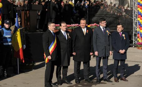 Ludovic Orban, Mihai Chirica, Costel Alexe