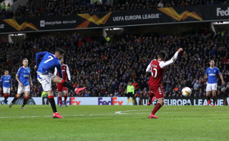 Ianis Hagi, eroul meciului Glasgow Rangers - Sporting Braga - 2