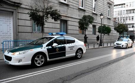 Un grup de români, arestați pentru că aduceau în Spania cocaină diluată în ulei