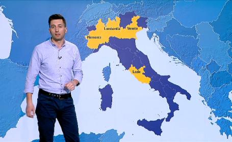 Câți români trăiesc în zonele cu coronavirus din Italia