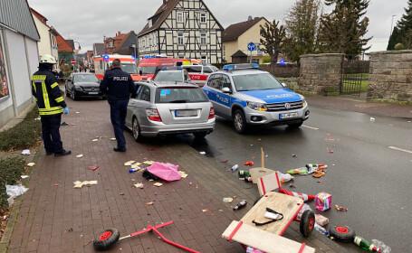 O maşină a intrat în mulţime la o paradă, în Germania. Zeci de persoane rănite - 3