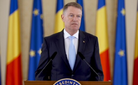 Klaus Iohannis, la Palatul Cotroceni